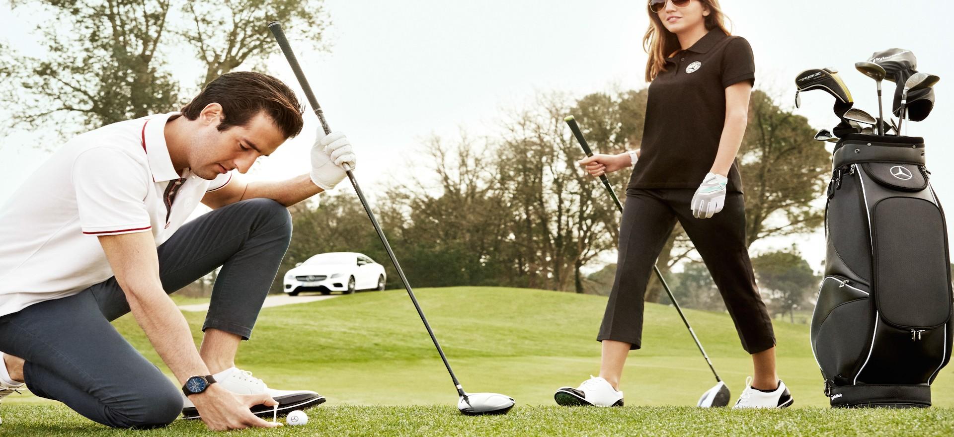 Accessori e abbigliamento della collezione Golf